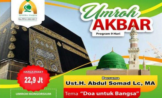 Paket Umroh Ustadz Abdul Somad