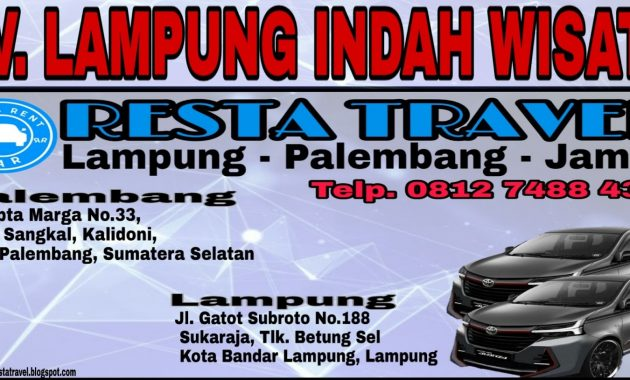 Travel Palembang Lampung